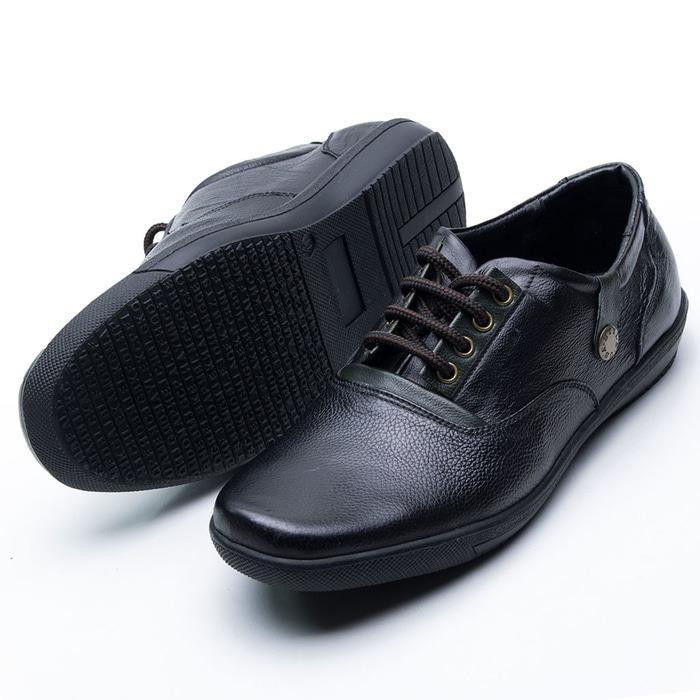 Sepatu Casual Pria Murah Kulit asli Kuliah / Sepatu Pantofel Pria Kerja Kantor Bisnis Murah /