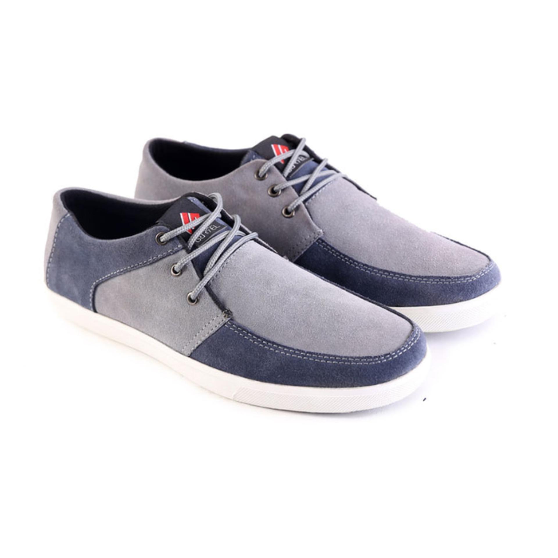Sepatu Casual Pria Cowok GARSEL Terbaru L 070 Asli