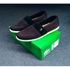 Spesifikasi Sepatu Casual Pria Sepatu Lacoste Zoster Slop Jaring Nylon Lengkap