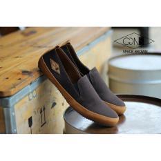 Toko Sepatu Casual Pria Slip On Loafers Gdns Space Cokelat Termurah Jawa Barat