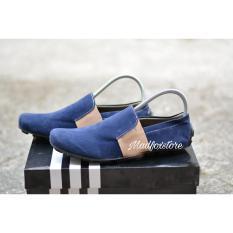 Sepatu Casual Pria Trendy Selop Suede Best Seller Sepatu Santai, Sepatu Jalan, Sepatu Sekolah, Sepatu Formal, Sneaker, Slip On, Casual,Slop sandal