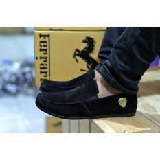 Sepatu Casual Sepatu Ferarri Mc004 Black Multi Diskon