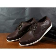 Sepatu Casual Slip On Pria Original Dr. Becco WAR ( BROWN )