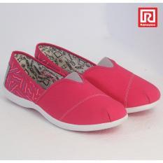 Harga Ramayana World Star Sepatu Kasual Slip On Wanita Flat Shoes Kanvas Motif World Star 07969955 36 Murah