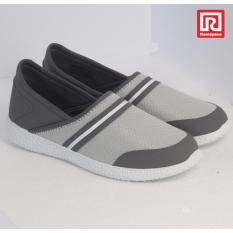 Toko Jual Ramayana World Star Sepatu Casual Slip On Wanita Kanvas Motif Polos World Star 07970653 36