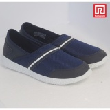 Cuci Gudang Ramayana World Star Sepatu Casual Slip On Wanita Kanvas Motif Polos World Star 07970663 36