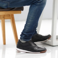 Sepatu Casual Sneakers Pria Terbaru - NAVARA FOSTER - Black