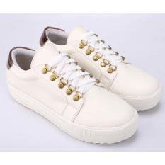 Review Pada Sepatu Casual Sneakers Wanita Cewek Cewe Sneaker Warna Putih Sl 017 Cz