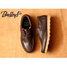 Sepatu Casual Zapato Pria - kulit asli - BRADLEYS ZAPATO INC - Brown