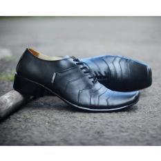 KERAK STORE Sepatu Cevany Pantofel Boot Kulit Asli / Cevany Pantofel Formal Kantor - CEVANY LOBSTER ( HITAM )