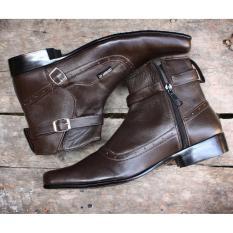 BRODO Sepatu Pantofel Pria -Sepatu Kulit Asli - sepatu formal pria