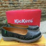 Harga Sepatu Cewek Kickers Kulit Sepatu Sendal Slop Kickers Asli