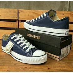 Sepatu Converse All Star Biru Navy (Biru Dongker) -Grade Ori - Ebmlnb