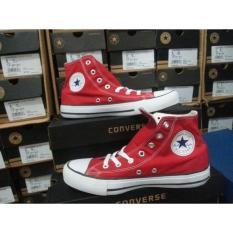 Sepatu Converse All Star Chuck Taylor Red High - Sct77u