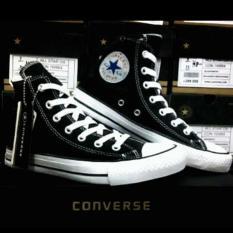 Sepatu Converse All Star Hitam Tinggi (High) Promo - Dk63jn