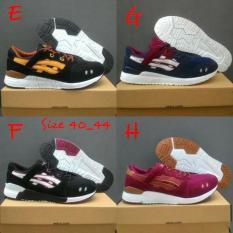 Sepatu Cowok Asics Gel Lyte Iii Running Casual Sneaker Slip On Sports - Snijhk