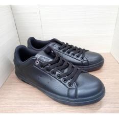 Sepatu Cowok / Sepatu Sekolah Ardiles Harbour Hitam