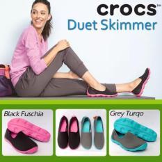 Sepatu Crocs Duetskimmer Flat