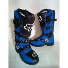 Sepatu cross/trail fox  - Biru