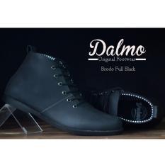 Sepatu Dalmo Brodo Original Hand Made Premium Bandung - Black