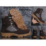 Toko Sepatu Delta Boots Safety Zimzam G Block Coklat Di Indonesia