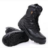 Review Sepatu Delta Force 8 Sepatu Boots Taktis Outdoor Hitam