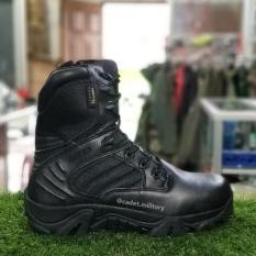 Sepatu Delta Hitam 8 Inci - Tactical Boots (Pria)