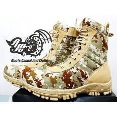 Sepatu Delta - Pdl - Sepatu Gurun -Kickers-Sepatu Boot Pria - Ce9777