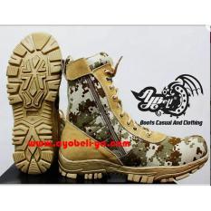 Sepatu DELTA - Sepatu LORENG Gurun - Sepatu PDL Ayo Beli A-020LG