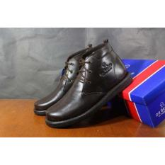 sepatu Dr Becco Sepatu Pria boot cibaduyut kulit boots morris brown
