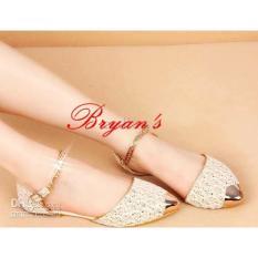 Jual Sepatu Flat Sandal Flat Wanita Brukat Online Di Banten