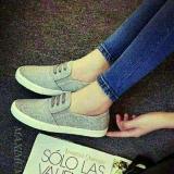 Toko Sepatu Flat Shoes Casual Grey Jeans Online