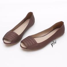 Diskon Sepatu Flat Shoes Open Toe Ffg Bronze Branded