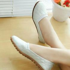 Harga Sepatu Flat Sol Ruber Putih Creamy Di Jawa Barat