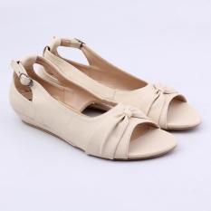 Sepatu Flat Wanita Catenzo RT 164 Cream Sintetis
