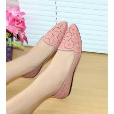 Kualitas Sepatu Flatshoes Wanita Laser Sintetis Salem Nfz 020 Nafiza