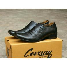 Ulasan Tentang Sepatu Formal Kerja Kantor Chevany Original Sepatu Kerja Sepatu Kantor Sepatu Pesta Kukit Pria Asli Black