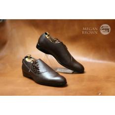 Ulasan Sepatu Formal Low Pria Pantofel Megan Original Chevany Brown