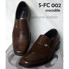 Review Pada Sepatu Formal Pantofel Kerja Kantor Pria Kulit Asli Coklat