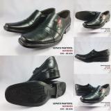Beli Sepatu Pria Pantofel Kerja Kantor Formal Kickers Kulit Asli Murah Hitam L03 Online
