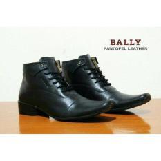 Sepatu Formal Pria Murah - Sepatu Pantofel Bally Tali Kulit Asli - Sepatu Branded