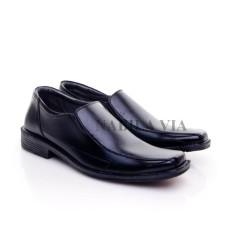 Sepatu Formal Pria / Wanita Untuk Kerja Kantor Kulit Sintetis - Black