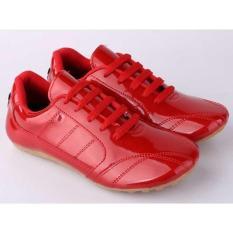 Sepatu Futsal Anak Laki-Laki Cowok Warna Merah CJR CLI 062 CR