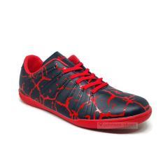 Sepatu Futsal CALCI - MAGMA ID Black / Red ORIGINAL