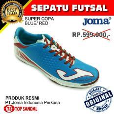 Sepatu Futsal Joma Super Copa Blue - Red