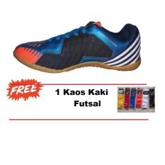Sepatu Futsal Kasogi Aguero - Sepatu Futsal - Sepatu Sekolah - Sepatu Pria - Sepatu Olahraga - Blue