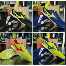 Sepatu Futsal Mizuno Grade - Sudah Di Sol Jahit Depan - Lengkap Box