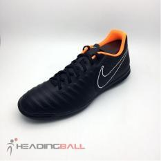 Sepatu Futsal Nike Original Legend X 7 Club IC Black Orange AH7245-080