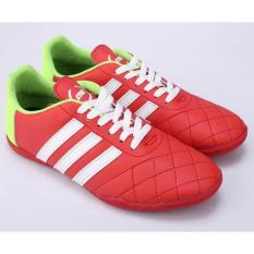 Sepatu Futsal Pria Cowok Cowo Laki-Laki Original Warna Merah NS 094 CZ