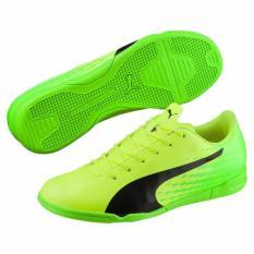 Sepatu Futsal Puma EvoSpeed 17.5 IT Yellow Green 104027 01